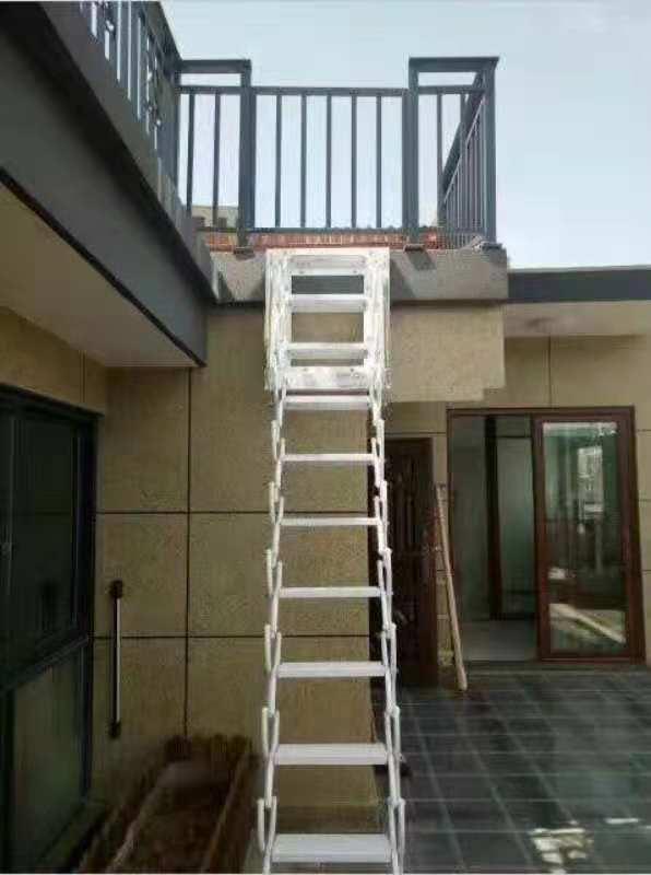 壁挂款伸缩楼梯02