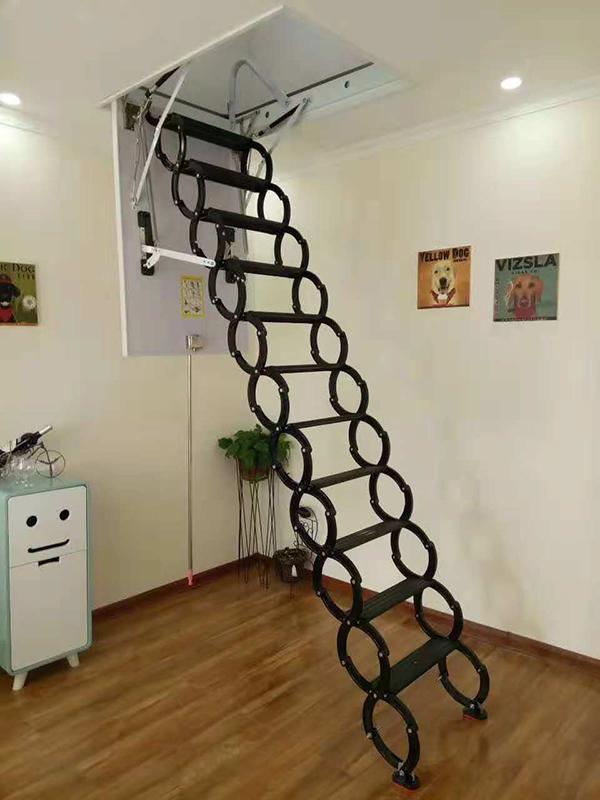 半自动钛镁合金楼梯01