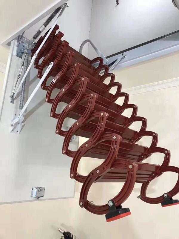 半自动钛镁合金楼梯02