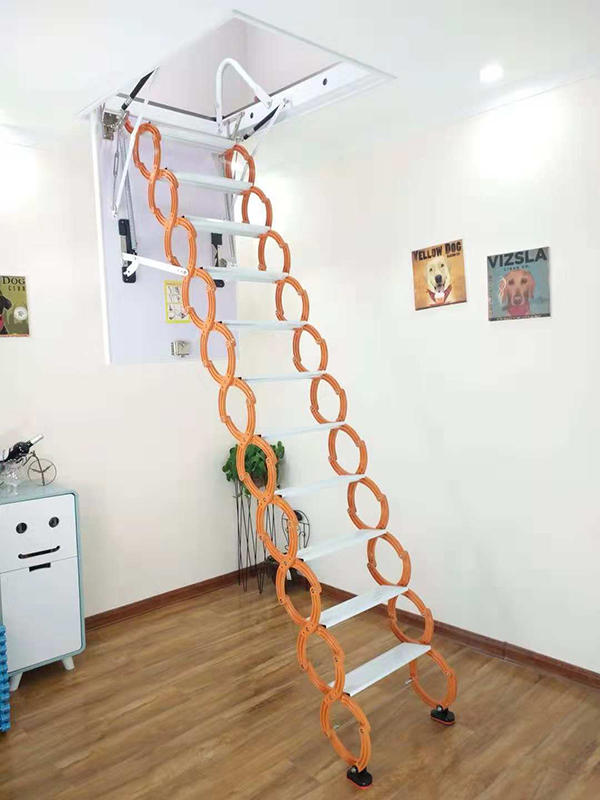 半自动钛镁合金楼梯03